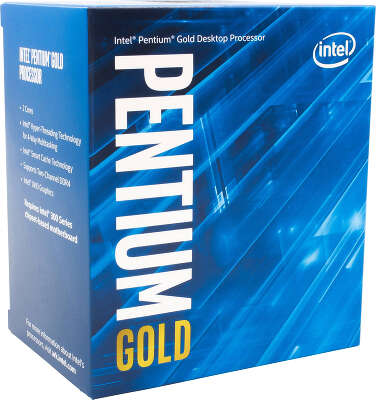 Процессор Intel Pentium Gold-G5600F (3.9GHz) Socket1151 BOX