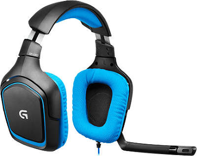 Гарнитура Logitech Surround Sound Gaming Headset G430 G-package [981-000537]