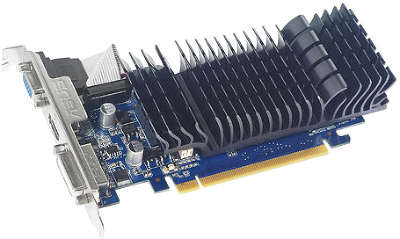 Видеокарта PCI-E NVIDIA GeForce GT210 1GB DDR3 ASUS [210-SL-TC1GD3-L]