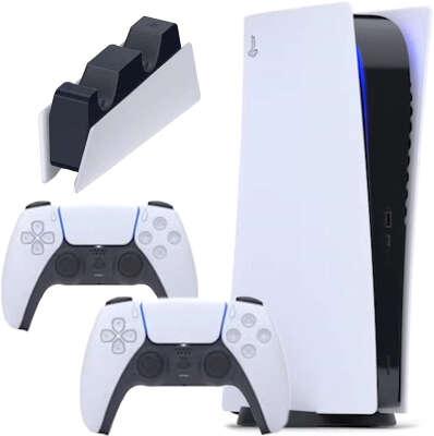 Консоль Sony PlayStation 5 Digital edition в комплекте c DualSense™ и зарядной станцией