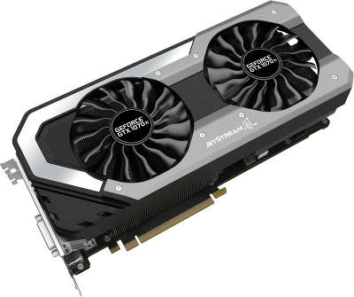 Видеокарта Palit PCI-E PA-GTX1070Ti JETSTREAM 8G nVidia GeForce GTX 1070Ti 8192Mb GDDR5
