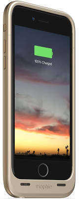 Аккумулятор-чехол Mophie Juice Pack Air для iPhone 6/<wbr>6S, Gold [JPA-IP6-GLD]