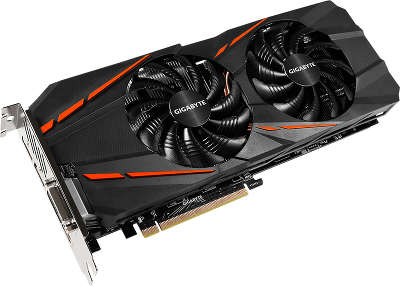 Видеокарта PCI-E NVIDIA GeForce GTX1060 G1 Gaming 6Gb DDR5 GigaByte [GV-N1060G1 GAMING-6GD]