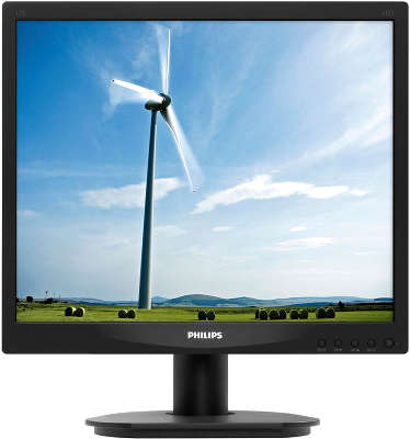 Монитор 17&quot; Philips 17S4LSB (10/<wbr>62) черный