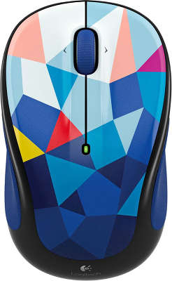 Мышь беспроводная Logitech Wireless Mouse M238 Play Collection USB Blue Facets (910-004479)<wbr>