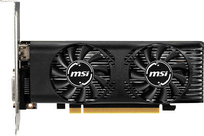 Видеокарта MSI nVidia GeForce GTX1650 LP OC 4Gb DDR5 PCI-E DVI, HDMI