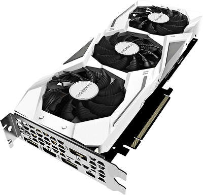 Видеокарта GIGABYTE nVidia GeForce RTX 2070 GAMING OC WHITE 8G 8Gb GDDR6 PCI-E HDMI, 3DP