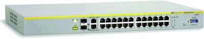 Коммутатор Allied Telesis (AT-8000S/24POE-50) 24-порта 10/100/BASE-T PoE
