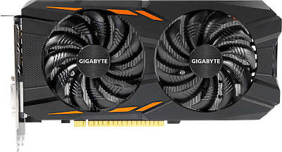 Видеокарта GIGABYTE nVidia GeForce GTX1050 WindForce 2Gb DDR5 PCI-E DVI, 3HDMI, DP