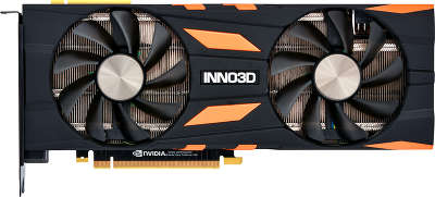 Видеокарта Inno3D nVidia GeForce RTX 2070 Gaming OC X2 8Gb GDDR6 PCI-E HDMI, 3DP