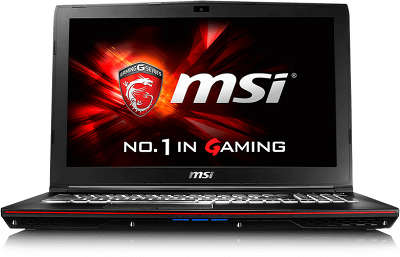 "Ноутбук MSI GP62 6QF-466RU 15.6"" FHD i7-6700HQ/8/1000/GTX960M 2Gb/Multi/ WF/BT/CAM/W10"
