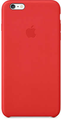 Кожаный чехол для iPhone 6 Plus/6S Plus Apple Leather Case, Bright Red [MGQY2ZM/A]