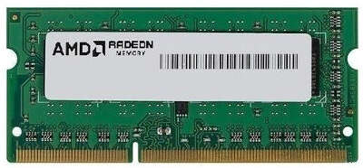 Модуль памяти DDR4 SODIMM 8Gb DDR2400 AMD Black (R748G2400S2S-UO)