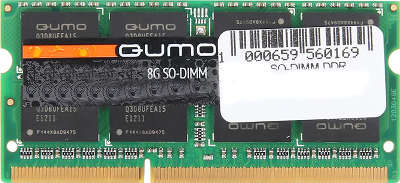 Модуль памяти SO-DIMM DDR-III 8192 Mb DDR1600 QUMO 1.35V [19680]