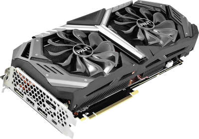 Видеокарта Palit nVidia GeForce RTX 2070 GameRock Premium 8Gb GDDR6 PCI-E HDMI, 3DP