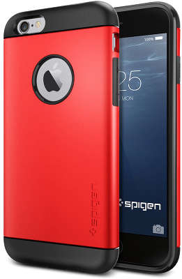 Чехол Spigen SGP Slim Armor для iPhone 6/6S, Electric Red [SGP10956]