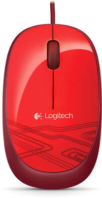 Мышь Logitech Mouse M105 Red USB (910-002945)