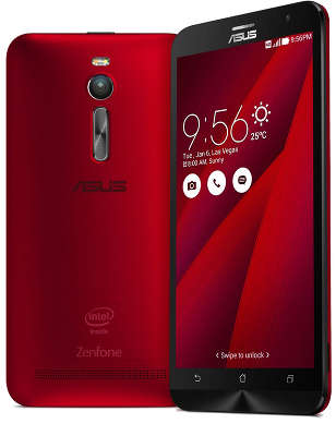 Смартфон ASUS Zenfone 2 ZE551ML 16Gb ОЗУ 4Gb, Red (ZE551ML-6C718RU)<wbr> (товар уценен)<wbr>