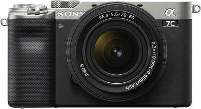 Цифровая фотокамера Sony Alpha 7C Silver Kit (28-60 мм)
