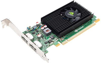 Видеокарта PNY nVidia GeForce NVS 310 NVIDIA 1Gb DDR3 PCI-E 2DP