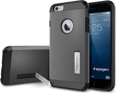 Чехол Spigen SGP Touch Armor для iPhone 6 Plus/6S Plus, Gun Metal [SGP11053]