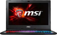 Ноутбук MSI GS60 6QE-232RU i5-6300HQ/<wbr>16Gb/<wbr>1Tb/<wbr>GTX970M 3Gb/<wbr>15.6&quot;/<wbr>W10/<wbr>WiFi/<wbr>BT/<wbr>Cam