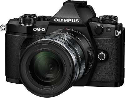 Цифровая фотокамера Olympus OM-D E-M5 Mark II Black kit (M.Zuiko 12-50 мм)