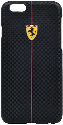 Чехол для iPhone 6/6S Ferrari Formula One Hard, чёрный [FEFOCHCP6BL]
